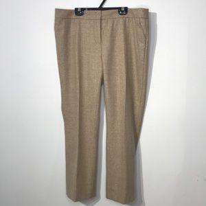 Akris Punto cream checked print trouser